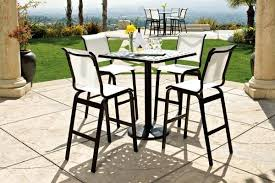 Bar Height Patio Chairs Clearance Patio Bar Sets Outdoor Bar Furniture The Home Depot Bar Patio