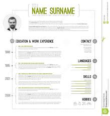 cv resume format timeline resume template free resume example and writing download minimalistic cv resume template