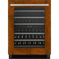 Under Cabinet Wine Fridge by Luxury Refrigerators High End Refrigerators Jenn Air