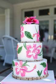 bridal luncheon decorations 3 tier bridal luncheon cake from lilly pulitzer tropical bridal