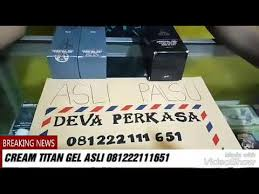 agen titan gel asli di jogja youtube