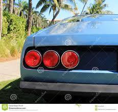 ferrari tail lights classic sports car tail lights stock photo image 30439828