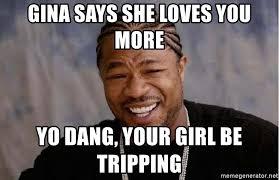 Gina Meme - dang gina meme mne vse pohuj