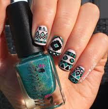 84 cute u0026 colorful tribal nail art designs for summer 2017 blurmark