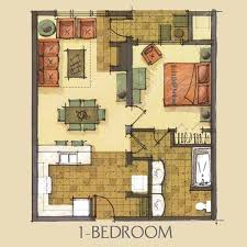 1 bedroom floor plan one bedroom floor plan home intercine