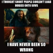 Short People Meme - i thought short people couldn t load hobies onto suvs i have never