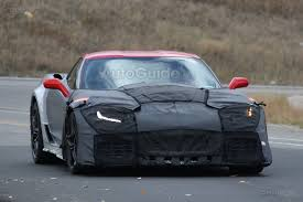 5th generation corvette 2018 chevrolet corvette zr1 spied testing with aggressive styling