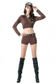 Marine Halloween Costume Wholesale Military Costumes Lover Beauty Cheap Army Costumes