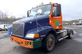 volvo commercial truck dealer 2003 volvo vnm42t single axle day cab tractor for sale by arthur
