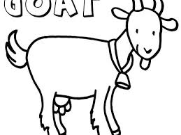 free coloring pages goats coloring pages goat coloring goat goat coloring pictures ins page in
