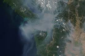 Wildfire Marketing Victoria Bc by Update New Image Of B C Smoke From Space Taken Today Sooke