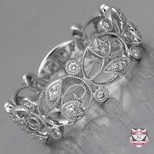 art nouveau jewelry art nouveau rings diamond wedding band art
