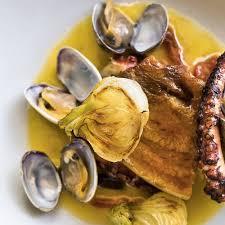 cuisiner le poulpe recettes salade de poulpe thé vert concombre grazia