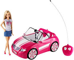 barbie cars with back seats barbie radio control convertible toys