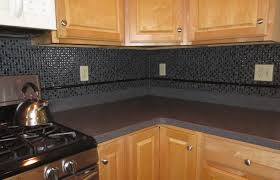 kitchen style white ceramic countertop and honey cabinets with