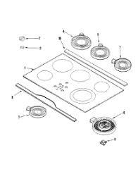 Parts For Jenn Air Cooktop Parts For Jenn Air Jec9530adw Cooktop Appliancepartspros Com