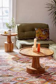 table round wood coffee tables rustic all products living accent