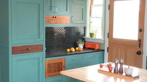 How To Paint Cheap Kitchen Cabinets Painted Cabinets A Cheap Way To Refresh Your Kitchen Youtube