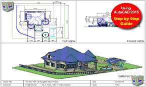 Floor Plan Using Autocad Autocad 3d House Modeling Tutorial Course Using Autocad 2015