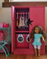 For American Or 18 Doll Make A Storage Cabinet Or Armoire