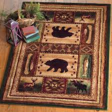 bear rugs bear wilderness rug collection black forest decor