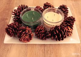 Pine Cone Home Decor Woodland Holiday Home Decor Gublife