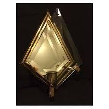 home interiors sconces home interior homco brass glass triangular shaped sconces retired