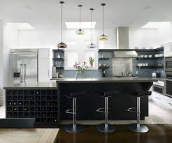 Modern Kitchen Island Lighting Kitchen Island Lighting Complements Interior U0027s Cool And Warm Color