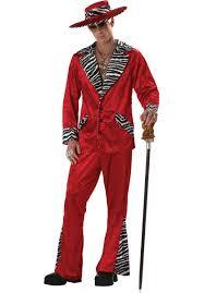 Beatles Halloween Costumes Red Pimp Costume Escapade Uk