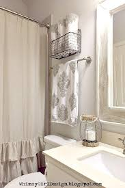 Towel Rack Ideas For Bathroom Best 25 Decorative Bathroom Towels Ideas On Pinterest Throughout