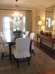 Where Can I Buy Dining Room Chair Covers Slipcovers Dining Room Skirt Exle Pinteres