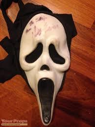 ghost face scream mask scream original screen used hero ghostface mask original movie prop