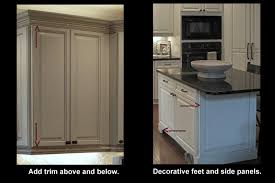 Add Trim To Kitchen Cabinets by 100 Kitchen Cabinet Feet Ana White Diy Apothecary Style
