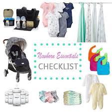 newborn essentials the guide to newborn basic essentials free printable checklist