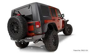 jeep fender flares jk bushwacker flat style fender flares 2007 2016 jeep jk wrangler