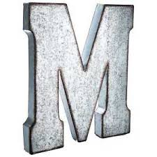 metal letters wall decor wall metal letter galvanized large 20 galvanized metal letter wall decor most letters man cave