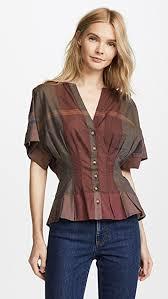 pleated blouse sea sleeve pleated blouse shopbop