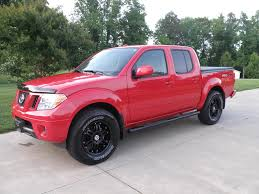 red nissan frontier lifted nissan frontier forum view single post good looking black rims