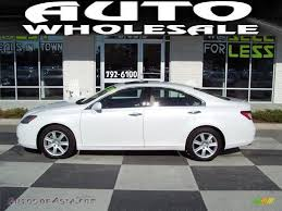 lexus es white 2008 lexus es 350 in starfire white pearl 222655 autos of asia