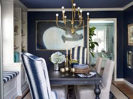 15 ways to dress up your dining room walls hgtv s decorating slipcovered side chairs