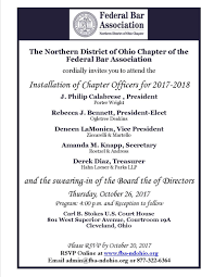 Ohio Power Of Attorney by Federal Bar Association Northern District Of Ohio Chapter