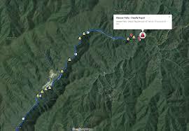nantahala river map seth holladay
