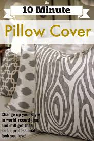 Cushions Covers For Sofa The 10 Minute Diy Pillow Cover The Creek Line House