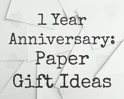 paper anniversary ideas 1 year anniversary paper themed gift ideas whimsical mumblings