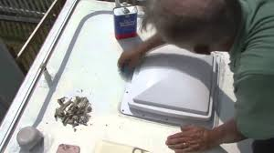 Dicor Rv Rubber Roof Coating by How To Install And Seal An Rv Roof Vent Using Dicor Lap Sealants