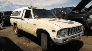 classic toyota truck 1983 toyota pickup junkyard find u2013 adobe rust repair edition