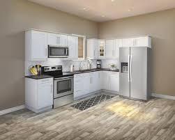 menards kitchen cabinet door hinges klëarvūe l shaped kitchen w 10 cabinet cabinets only at