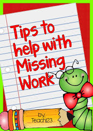 best 25 missing work ideas on absent students absent