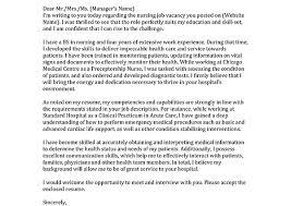 Sample Nursing Cover Letter For Resume by Help With Nursing Cover Letter