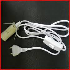 electric cord with light bulb power cord e26 e27 light bulb socket to 2 prong us eu power cord